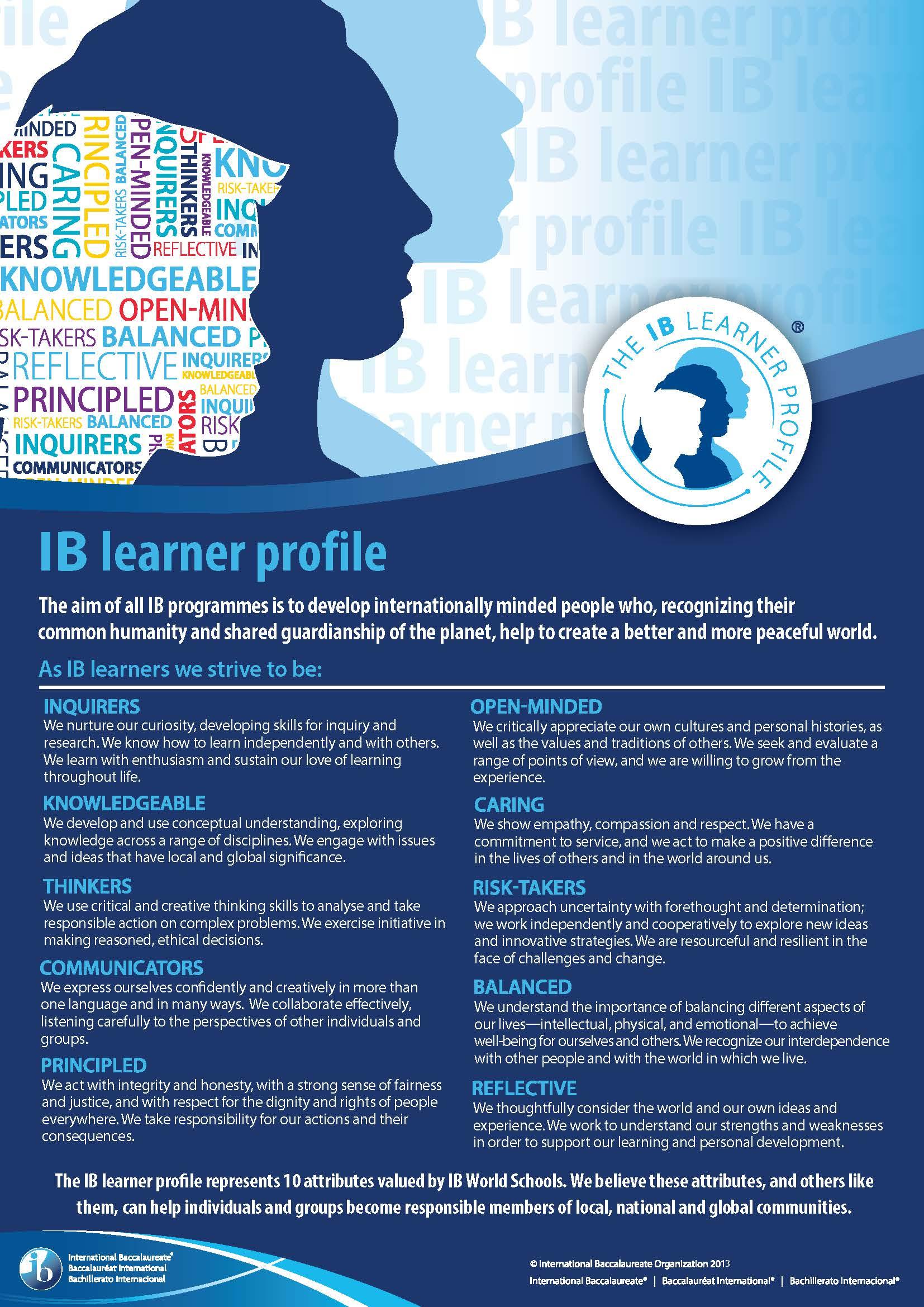 IB Learner Profile English