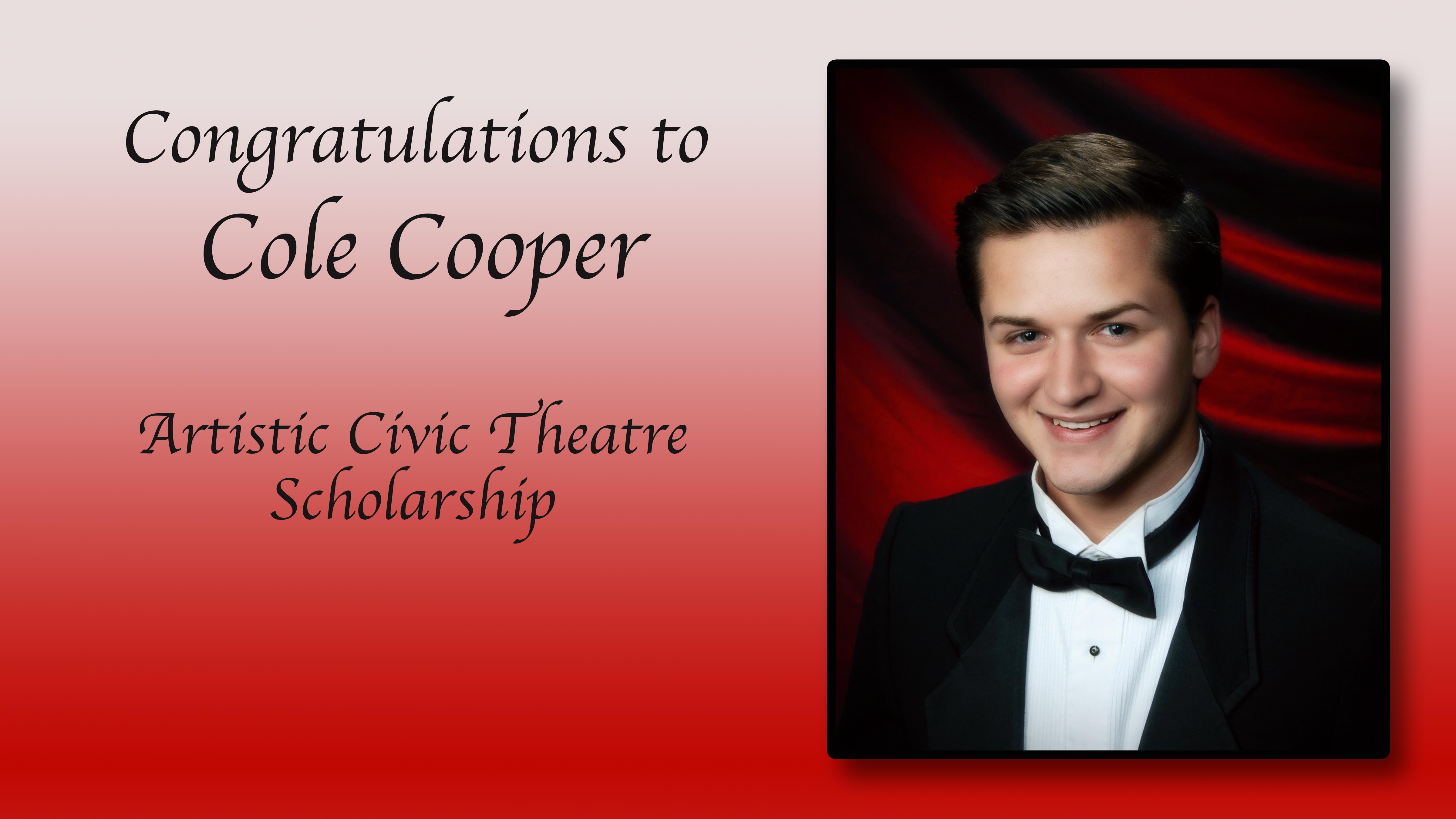 Cole Cooper Scholarship