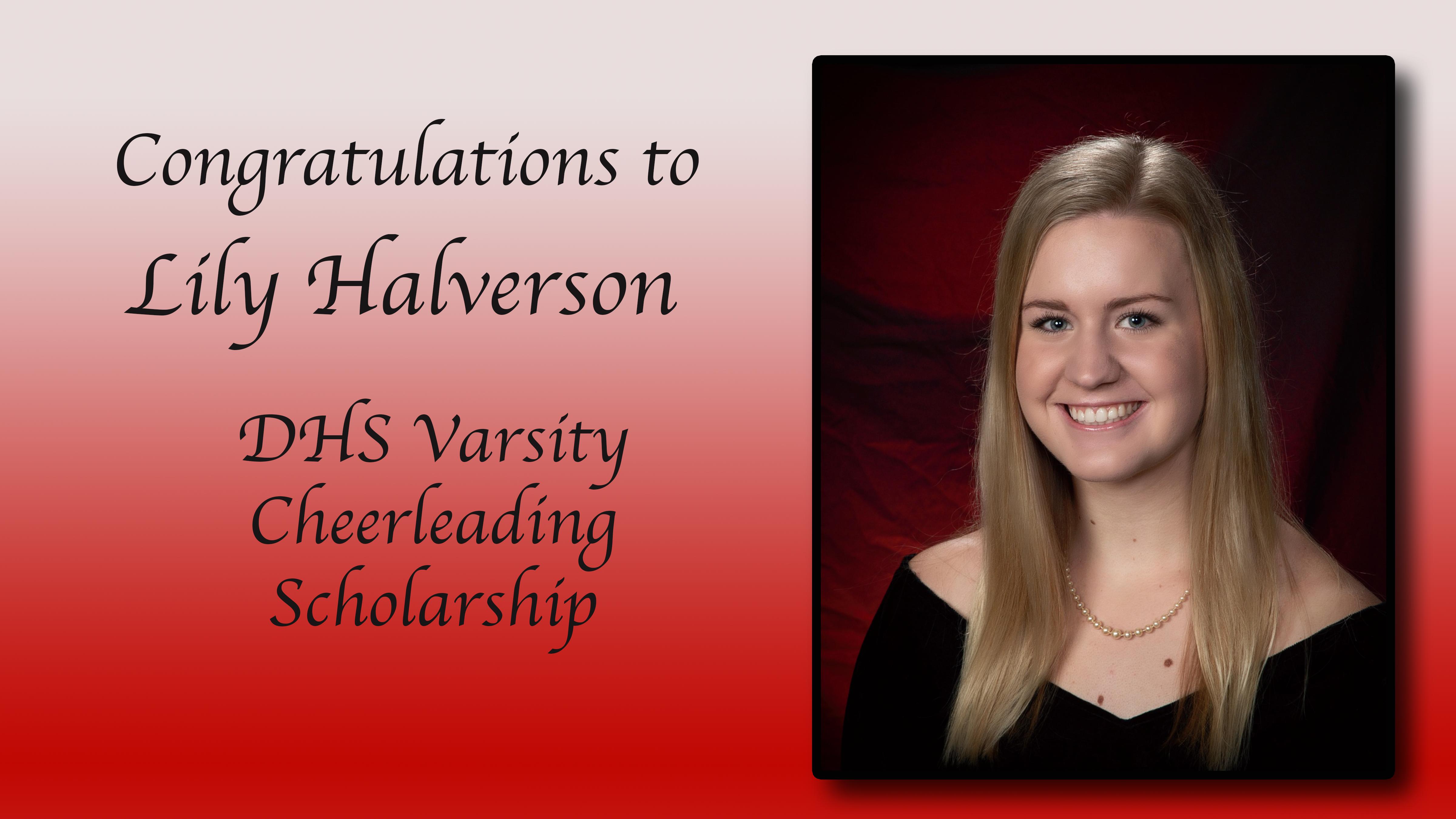 Lily Halverson Scholarship