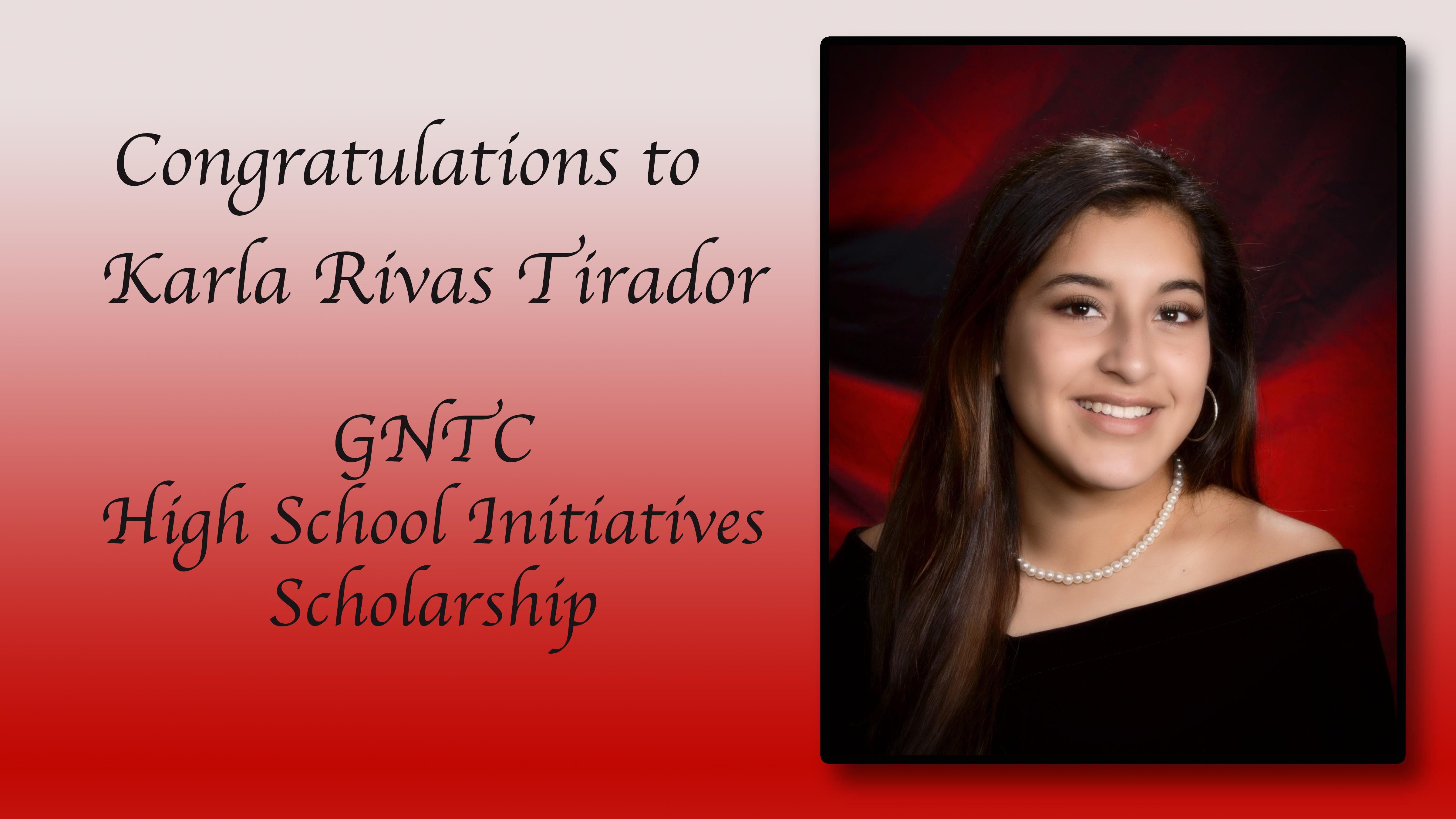 Karla Rivas Scholarship