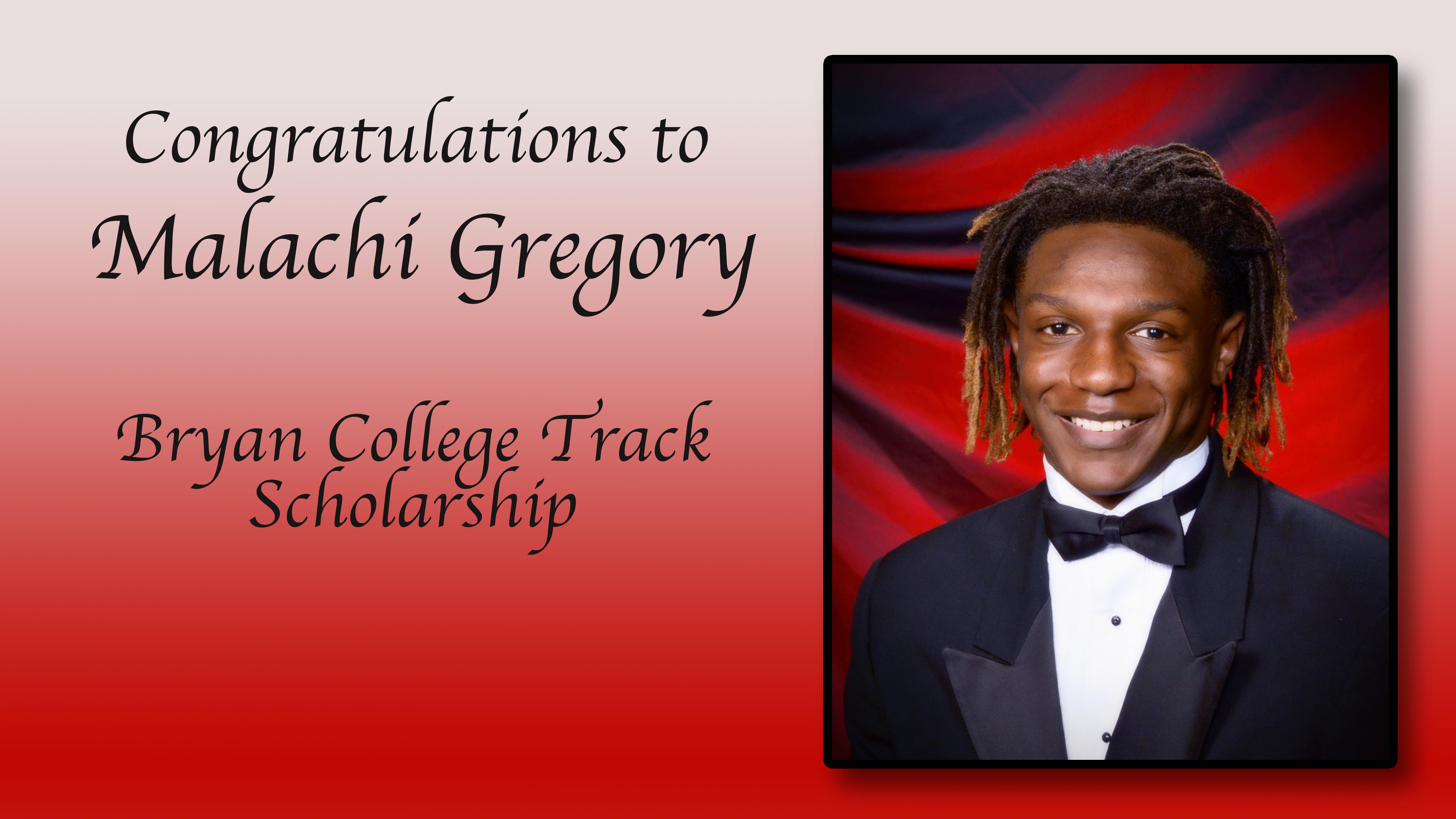 Malachi Gregory Scholarship
