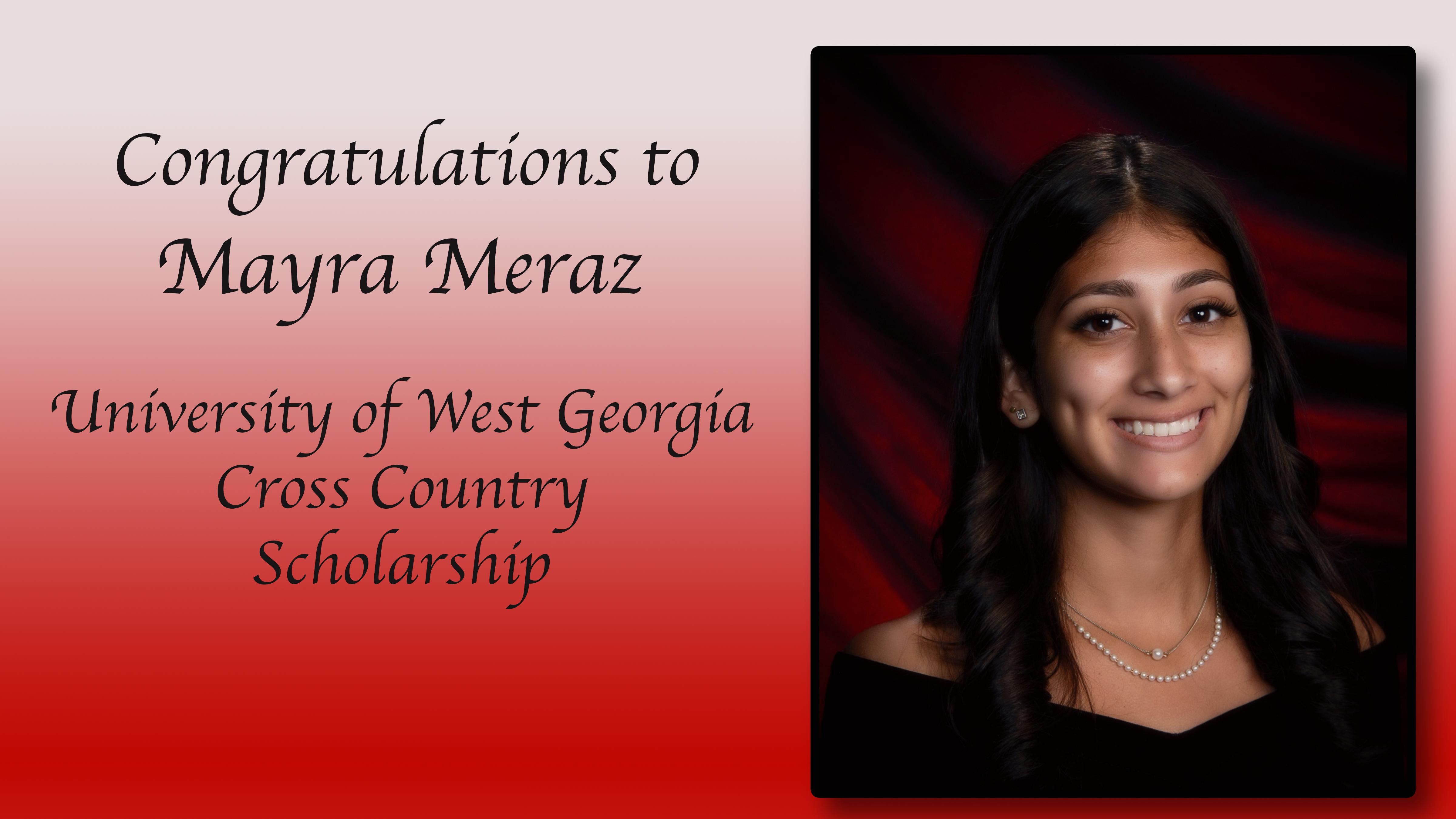 Mayra Meraz Scholarships