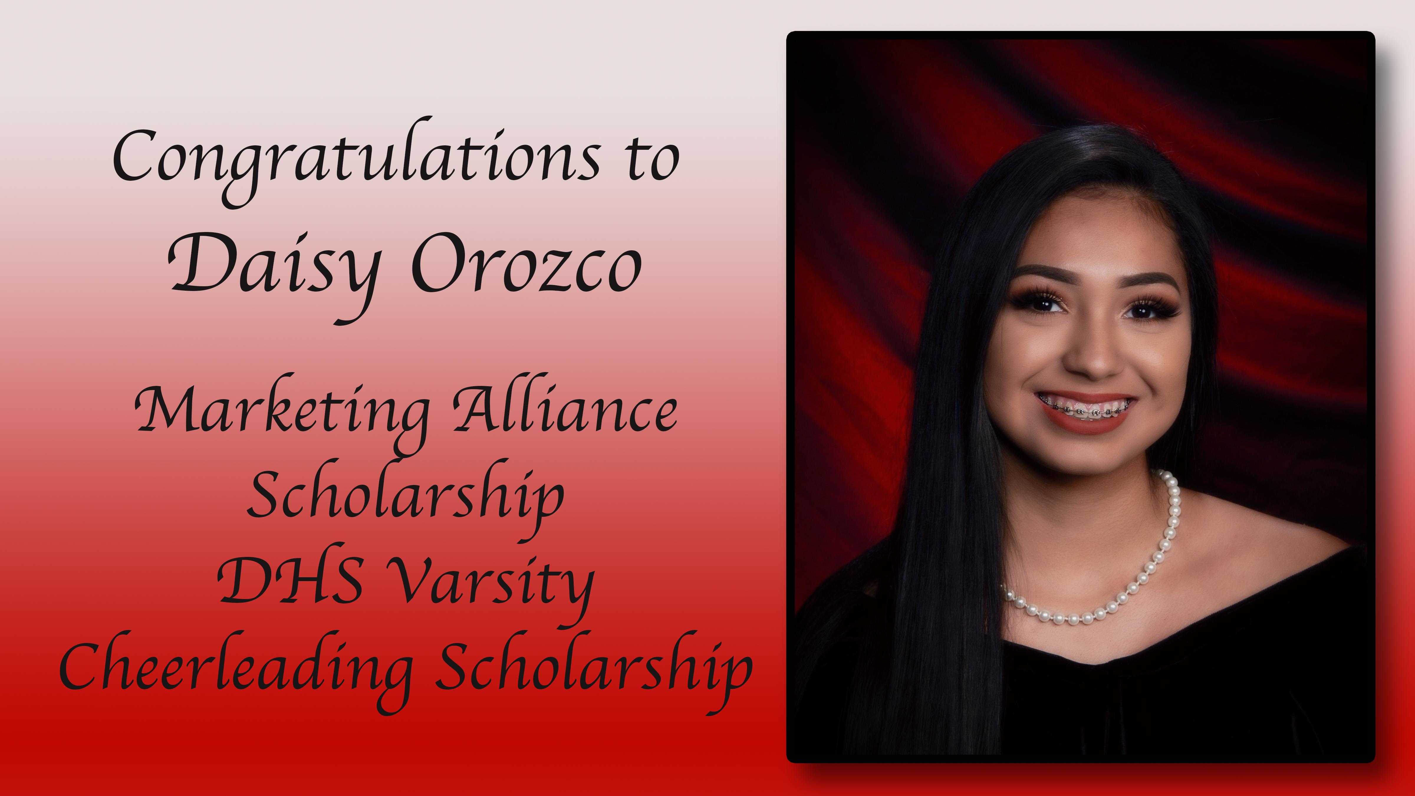 Daisy Orozco Scholarships