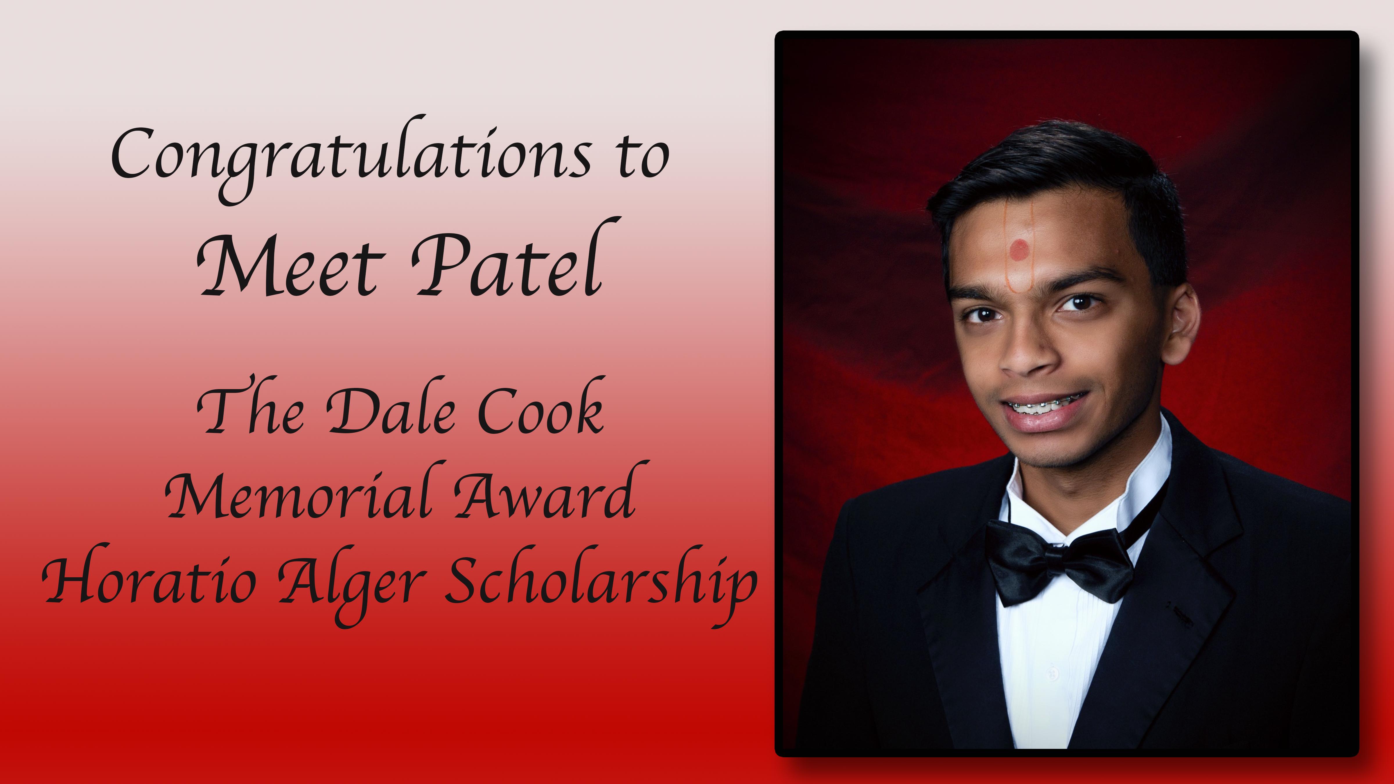 Meet Patel Scholarship