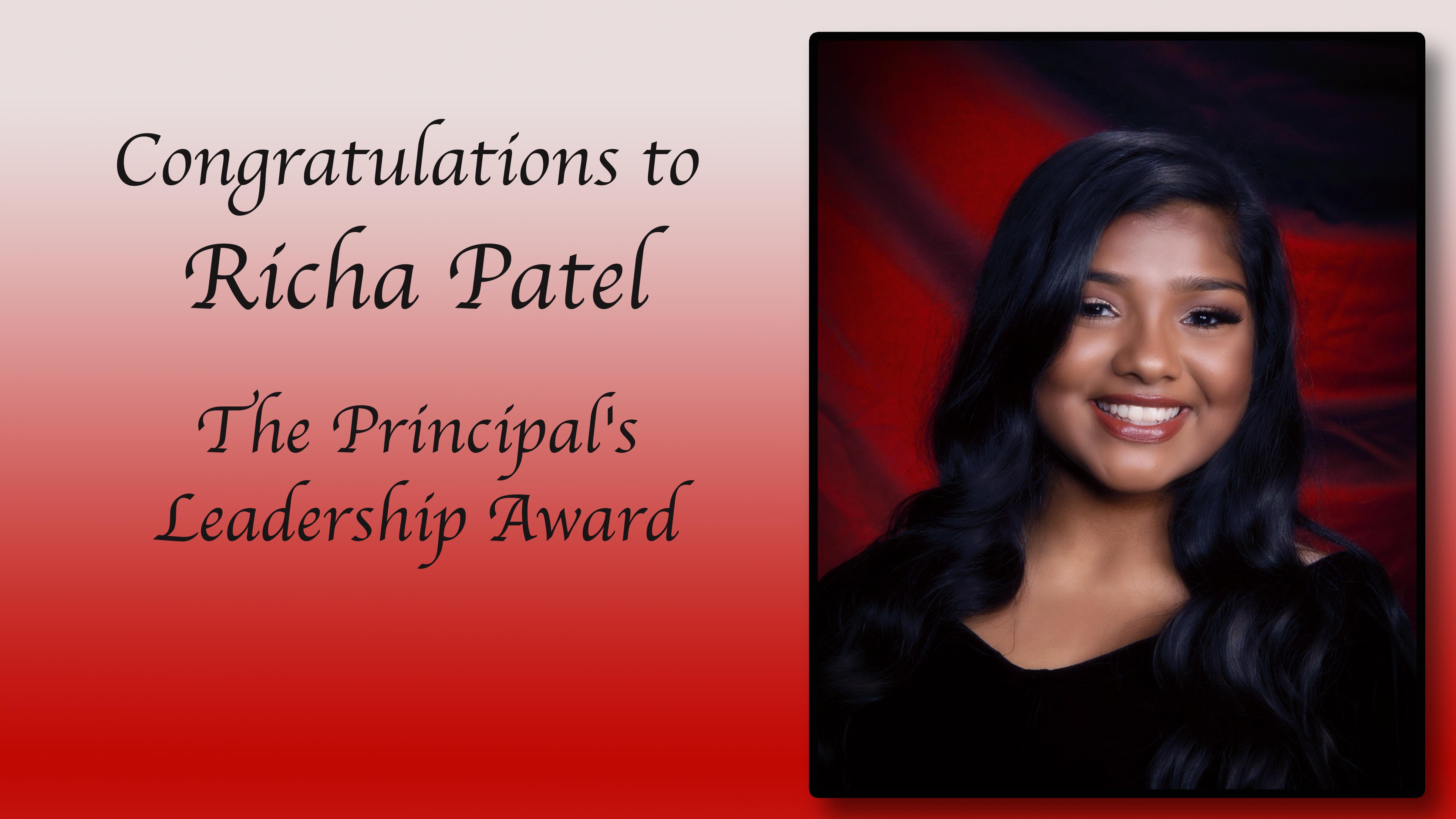 Richa Patel Scholarship