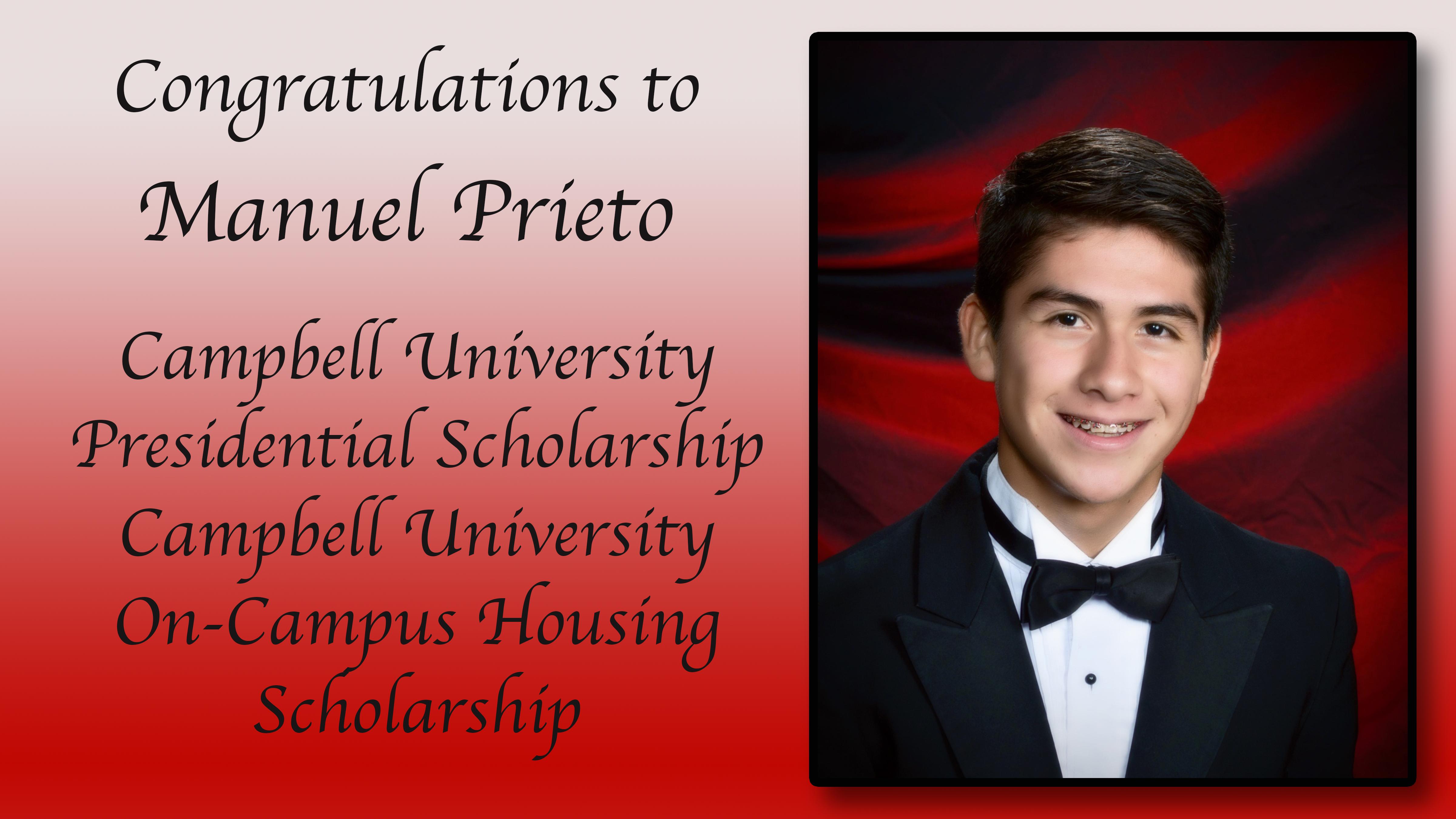 Manny Prieto Scholarships