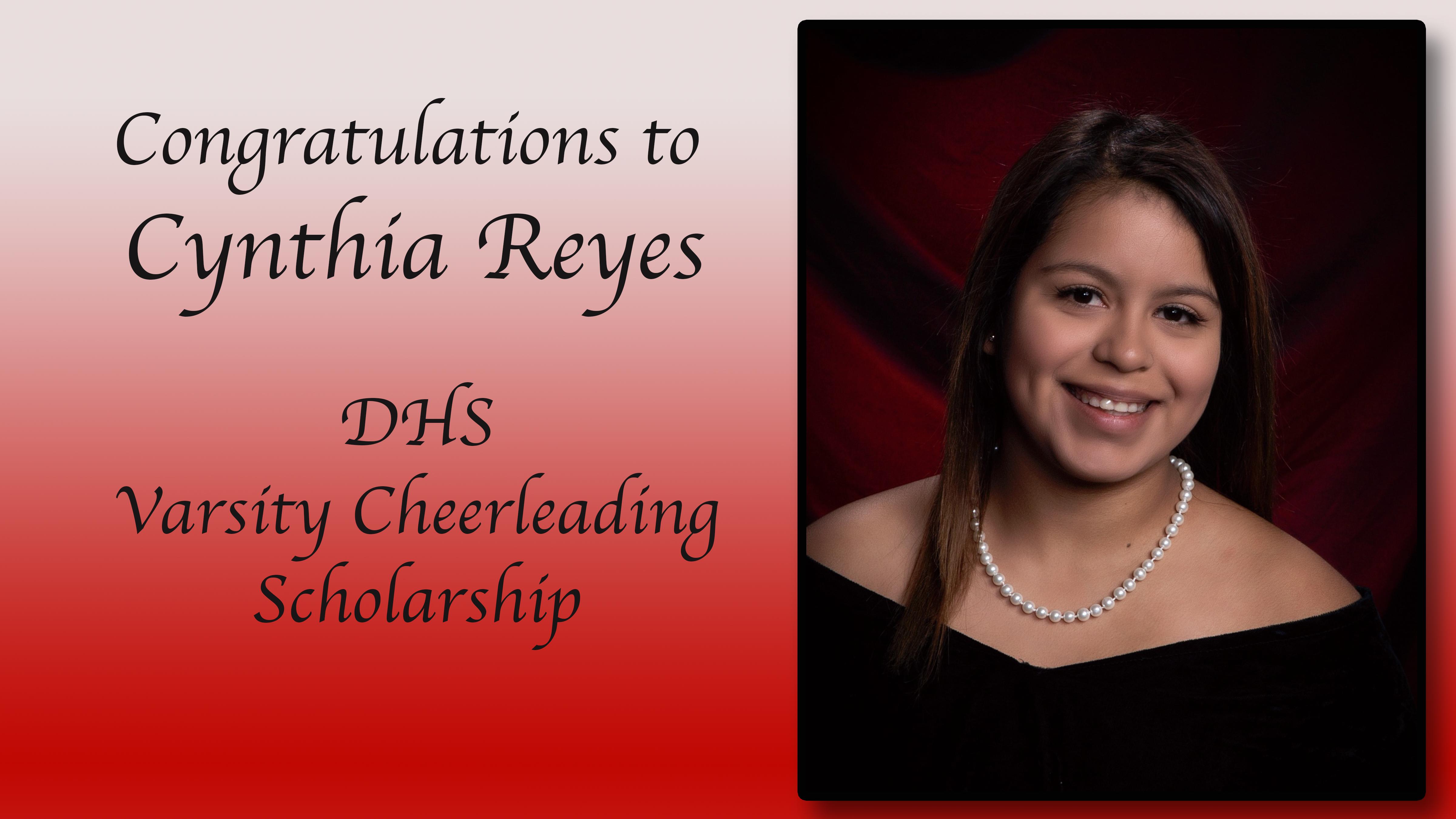 Cynthia Reyes Scholaship
