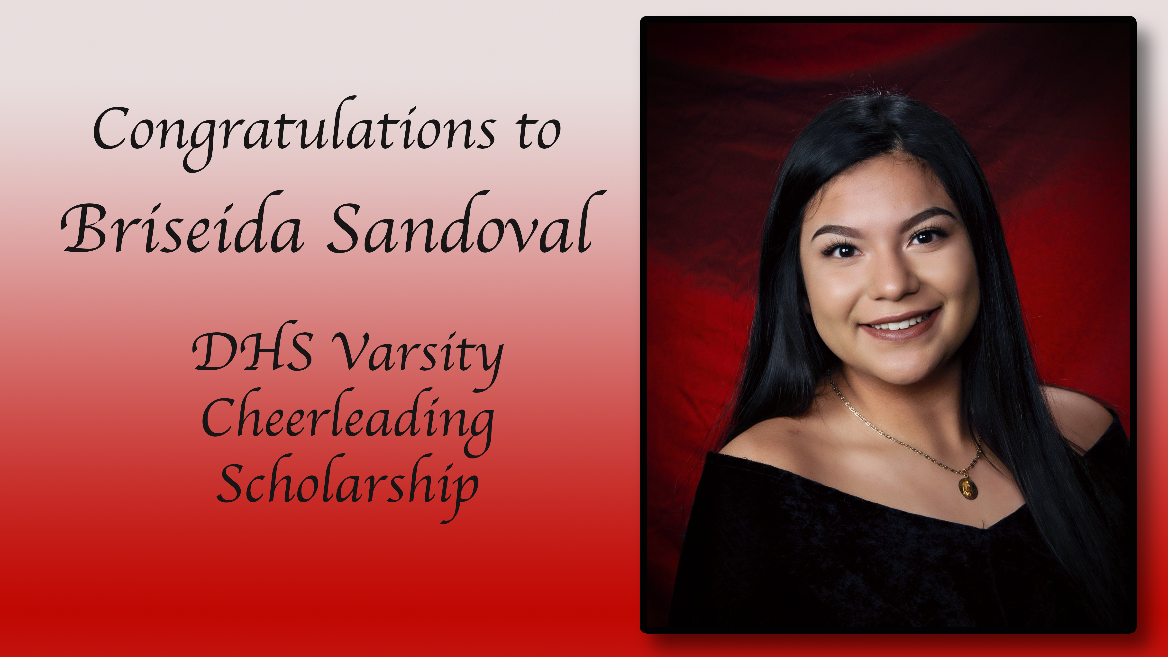Briseida Sandoval Scholarship