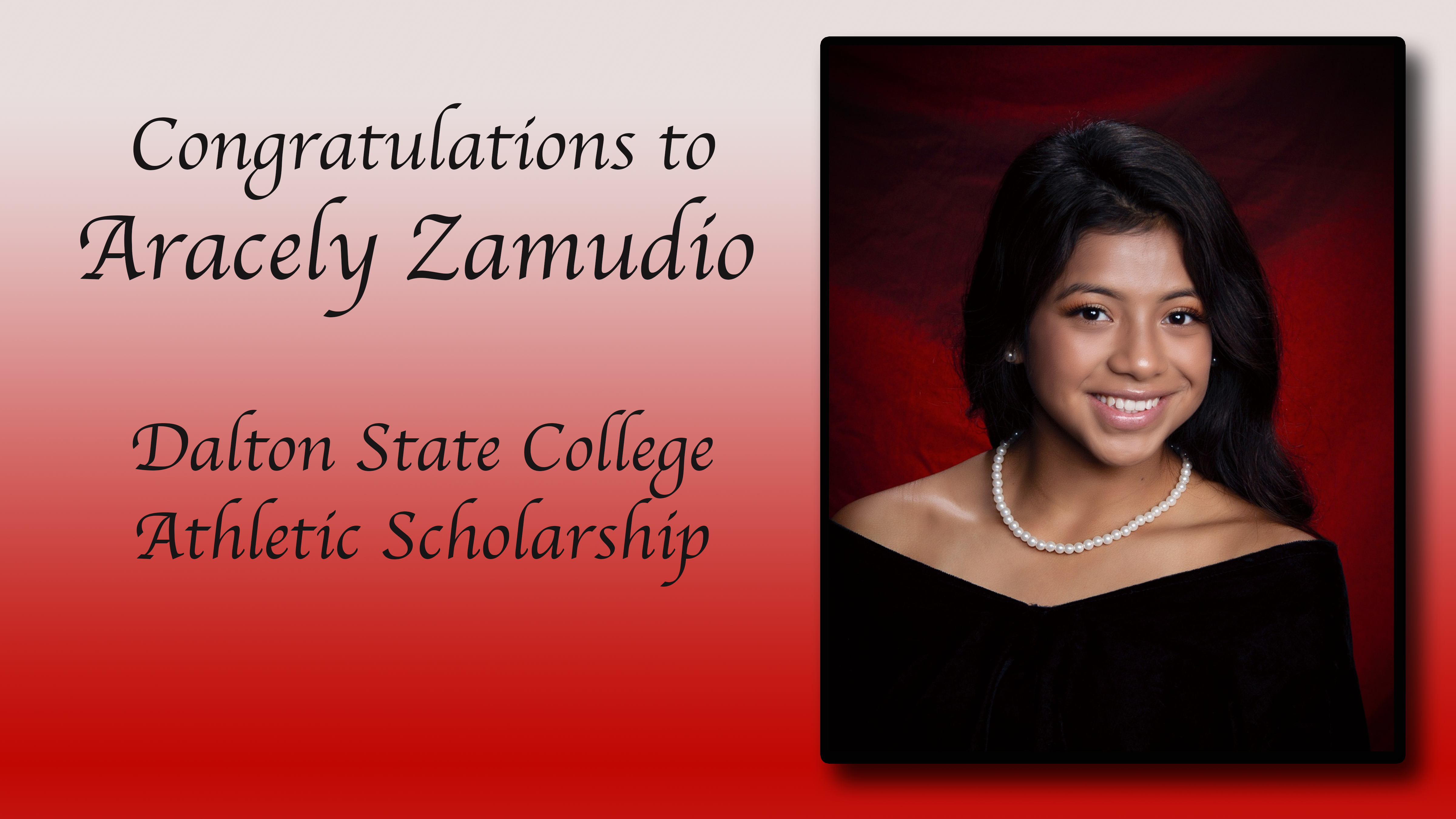 Arecely Zamudio Scholarship