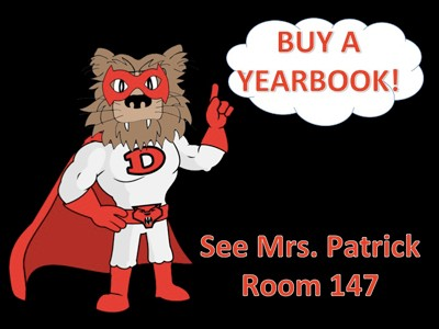 Buy a Yearbook graphic