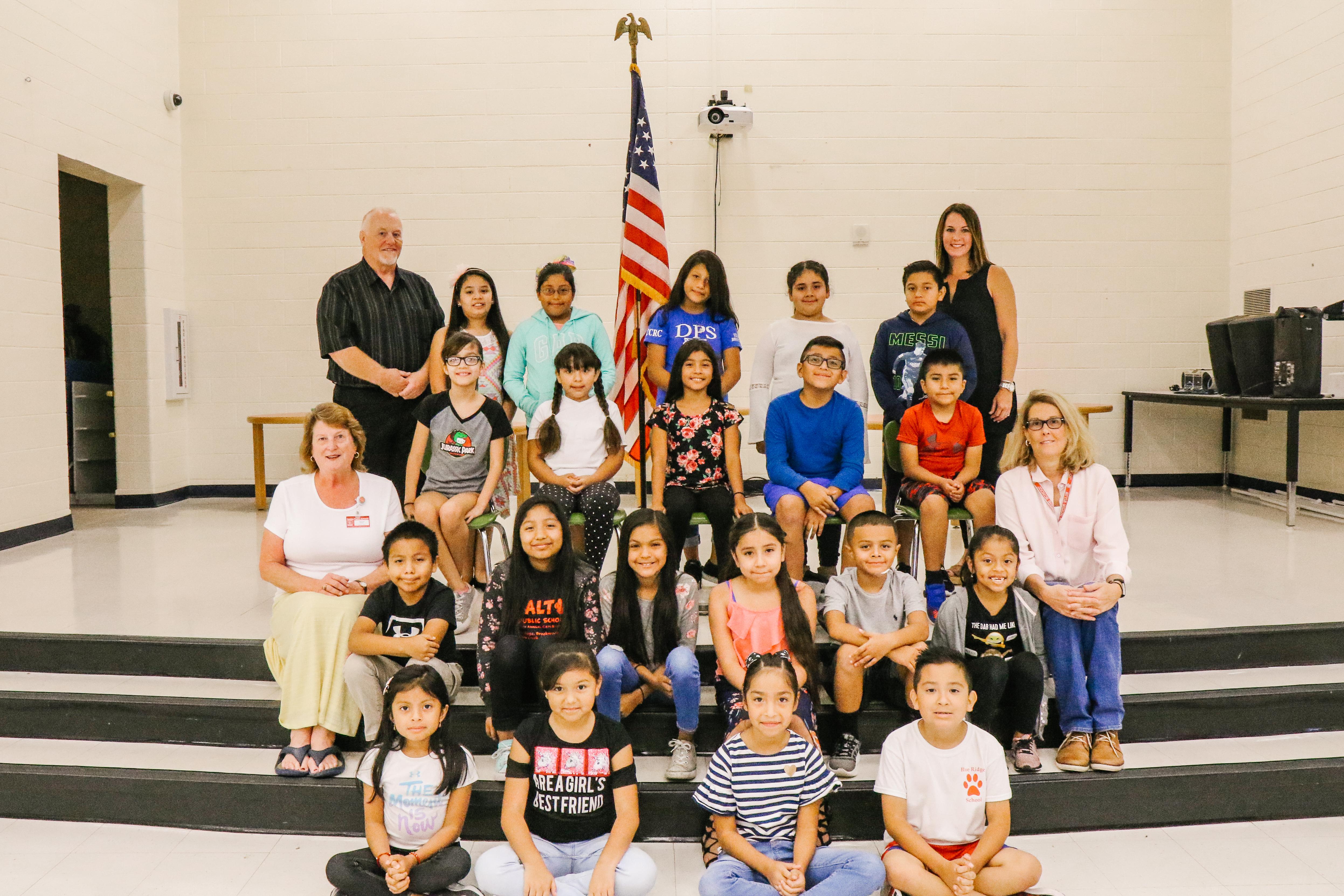 Group Photo of first Blue Ridge Student Council